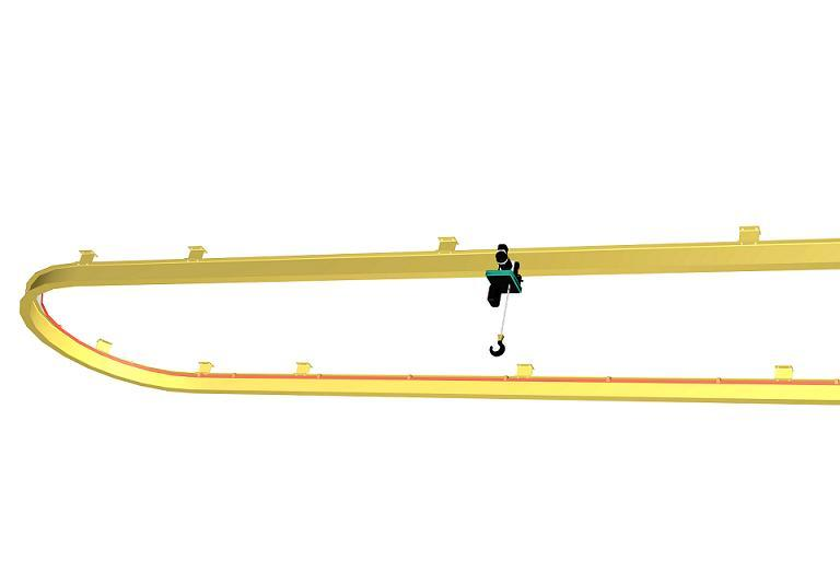 Sử dụng để nâng vật có tải trọng nhỏ dưới 10tấn tại những vị trí cố định